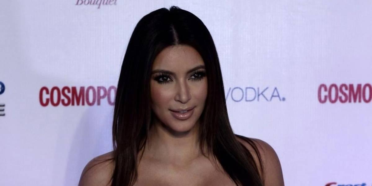 ¿Exceso de Photoshop?: Kim Kardashian compartió una foto donde luce seis dedos en un pie