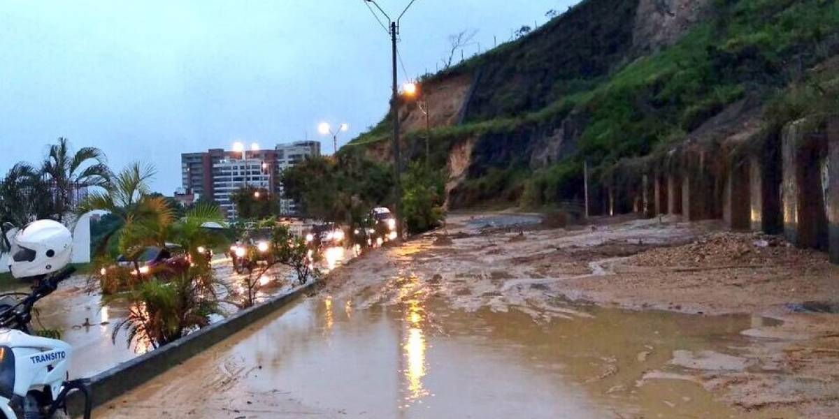 El país amanece bajo el agua: estas son las regiones más afectadas por las lluvias