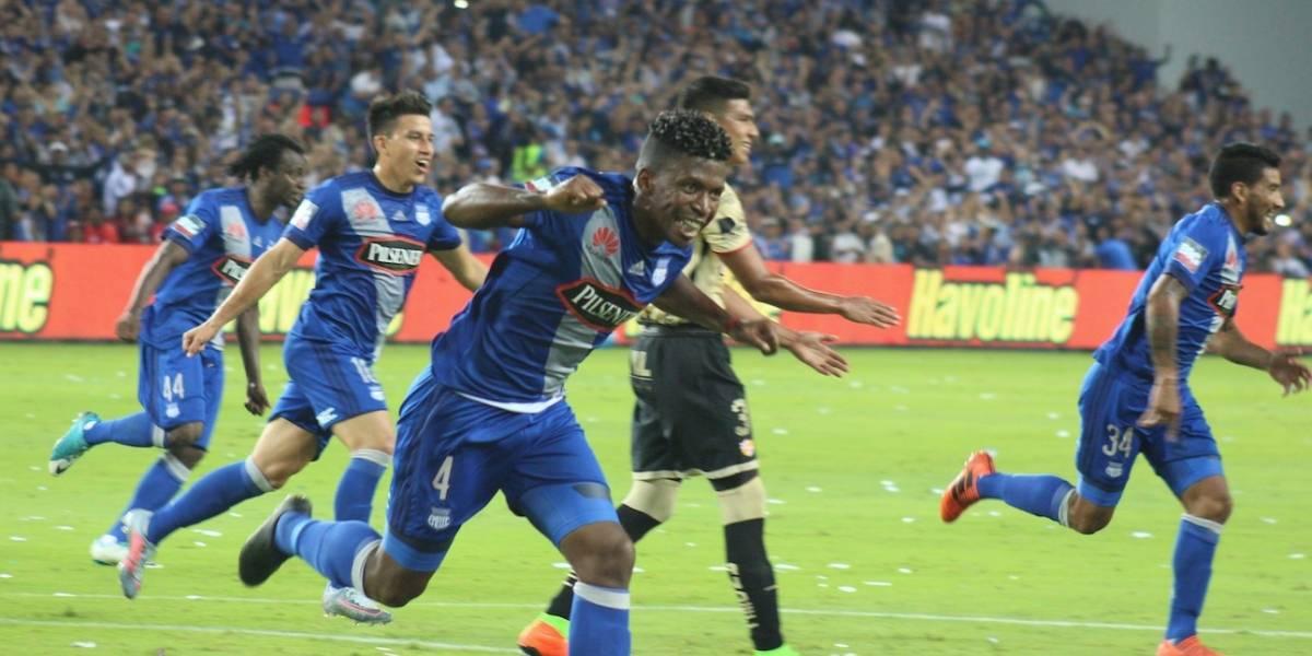 Emelec venció 3-0 a Barcelona SC