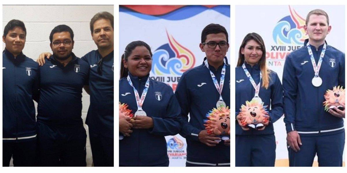 El tiro le da un nuevo oro a la delegación de Guatemala
