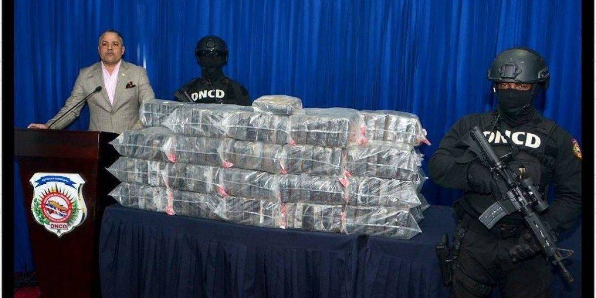 DNCD decomisa 229 paquetes de droga en Hato Mayor