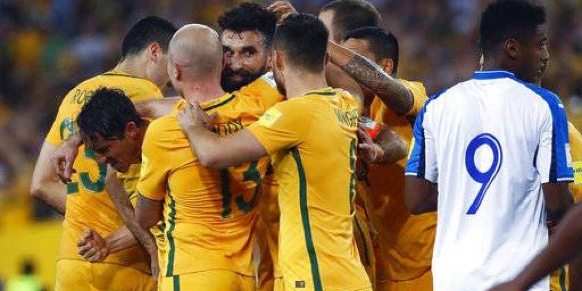 Australia apea a Honduras de Rusia 2018