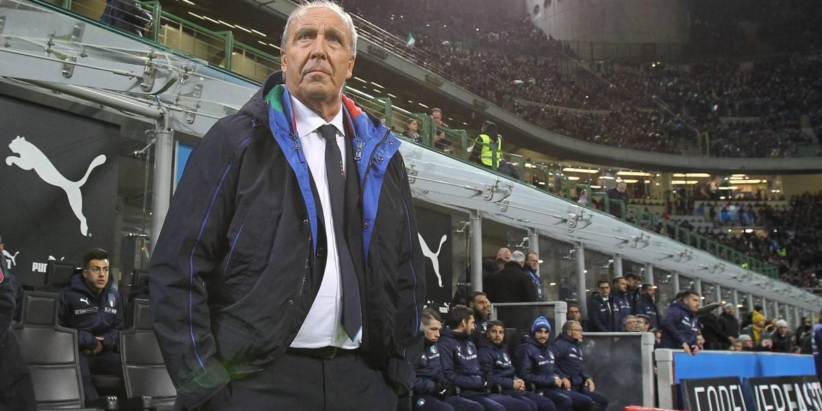 Obligan a Ventura a renunciar como DT de la Selección italiana