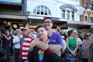 En las calles y espacios públicos de Australia, el ambiente hoy era uno de fiesta y multitudes celebraron el resultado de la votación. Foto: GettyImage