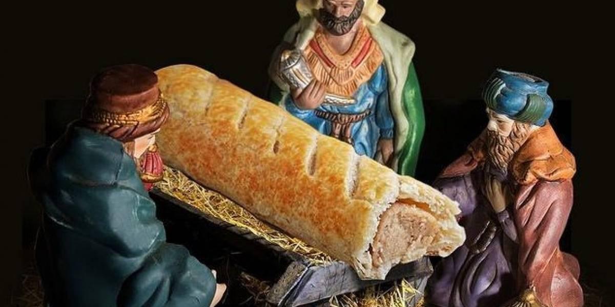 """Se pasaron: la gran polémica que generó una cadena de panaderías que reemplazó al niño Jesús en el pesebre con una """"chaparrita"""""""
