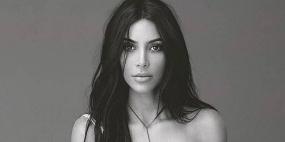 Kim Kardashian compartilha selfie exclusiva com lingerie de marca famosa; veja