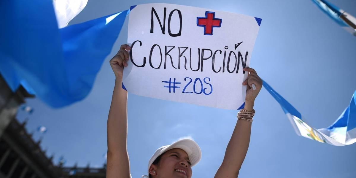 Organizaciones sociales piden continuar lucha contra corrupción en Guatemala