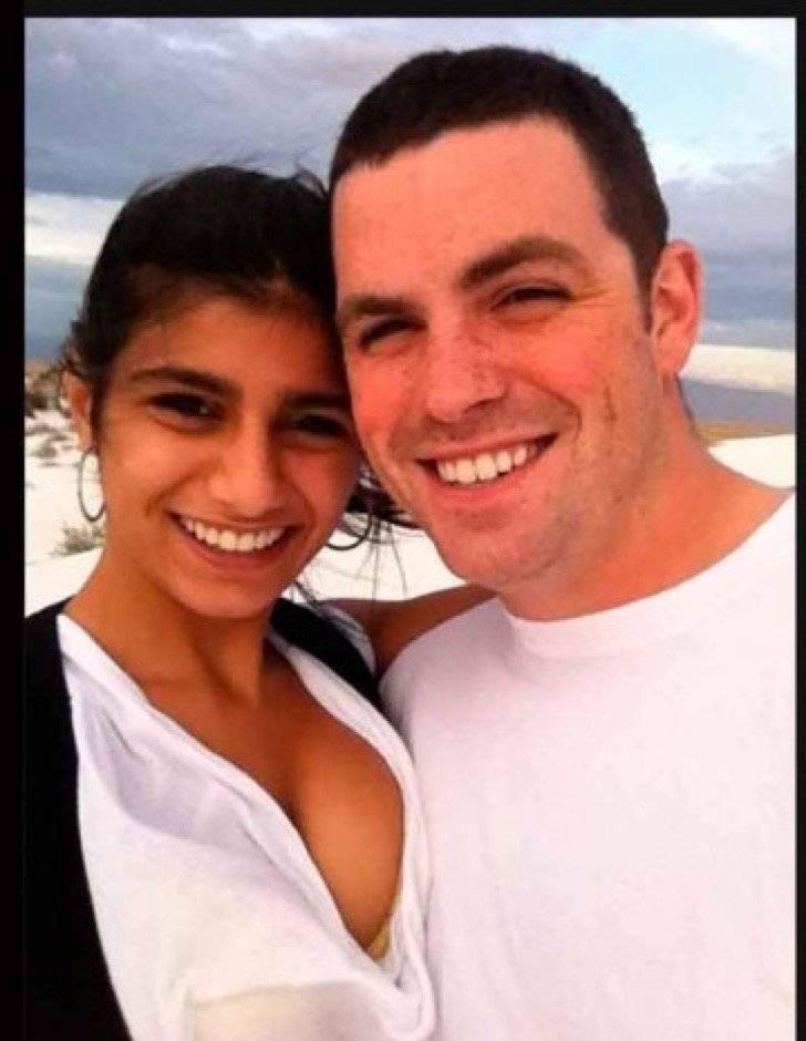 Mia Khalifa y su esposo