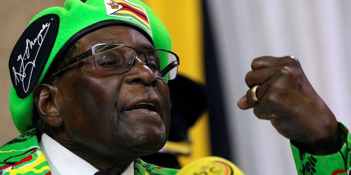 Partido de Mugabe pede demissão de Mugabe