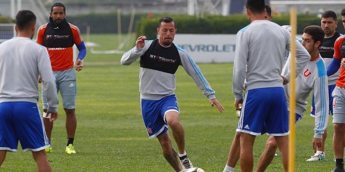 La última esperanza de gol para Hoyos en la U está viva: recuperó a Ubilla y Lorenzetti