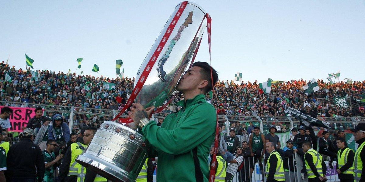 Wanderers celebró el título de la Copa Chile con su gente en Valparaíso