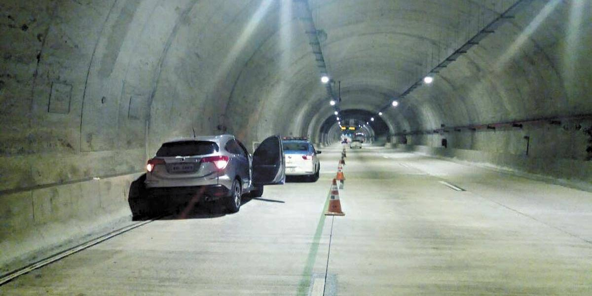 Coronel da FAB é morto  dentro de túnel no Centro