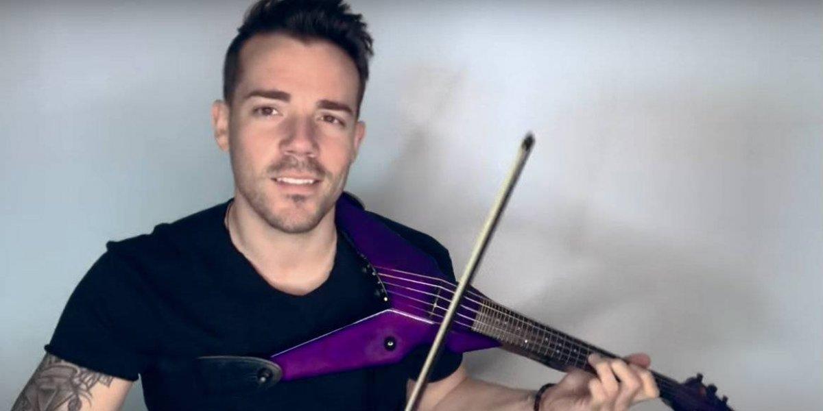 Robert Mendoza, busca revolucionar el estilo clásico del violín