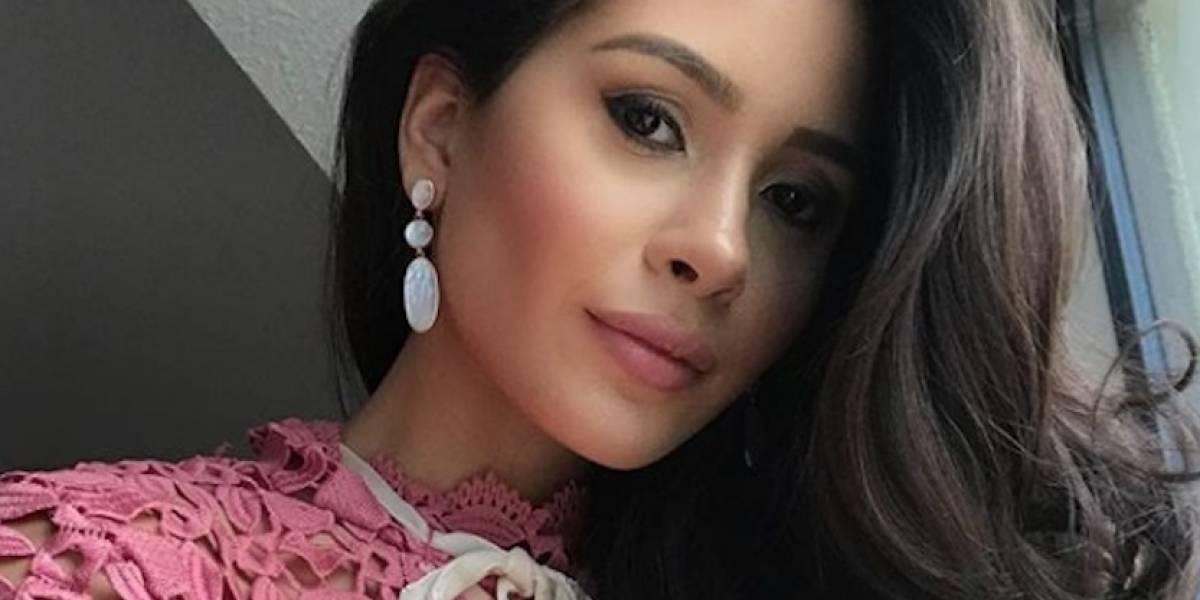 Danna sigue ajetreada agenda de Miss Universo 2017