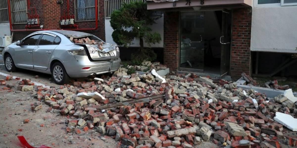 Inusual sismo de 5.4 grados sacude Corea del Sur