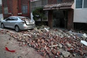 Temblor en Corea del Sur