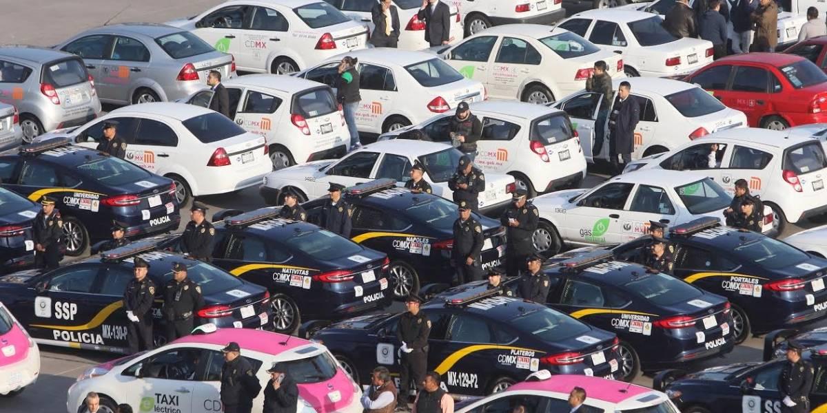CDMX estrena las primeras 100 patrullas híbridas