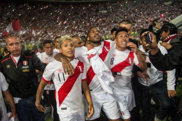 Perú cortó una pesadilla de 36 años / imagen: AFP