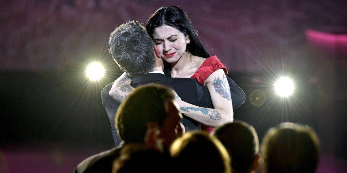 Mon Laferte y sus días en Las Vegas: se lució en el homenaje a Alejandro Sanz, se tatuó y adelantó sorpresa con Juanes