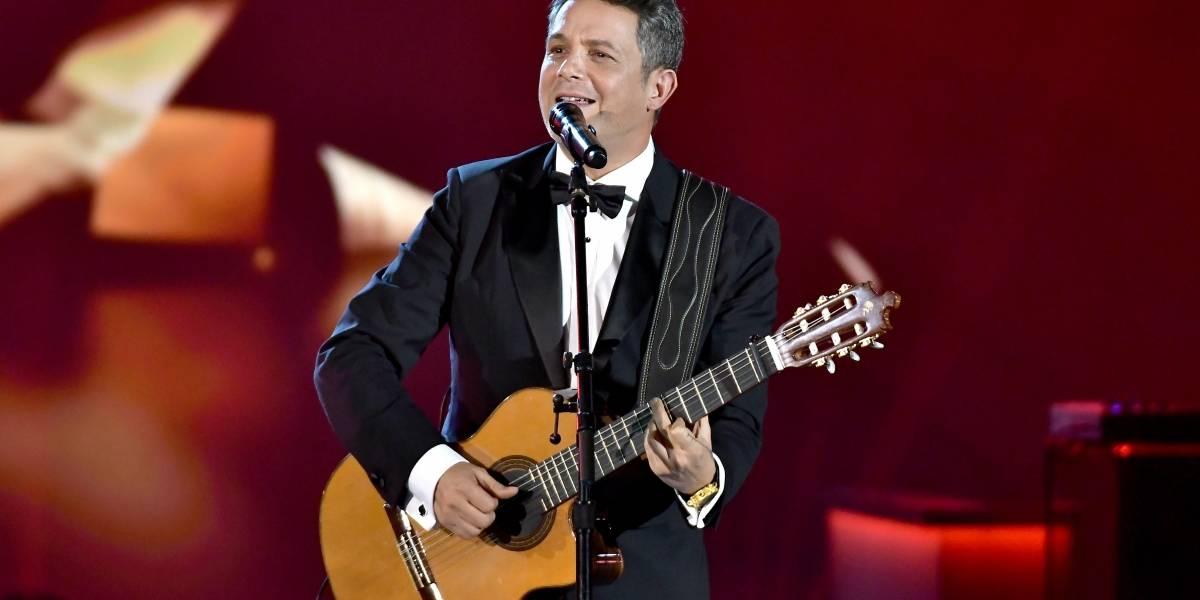 Alejandro Sanz fue reconocido como la Persona del Año de los Grammy