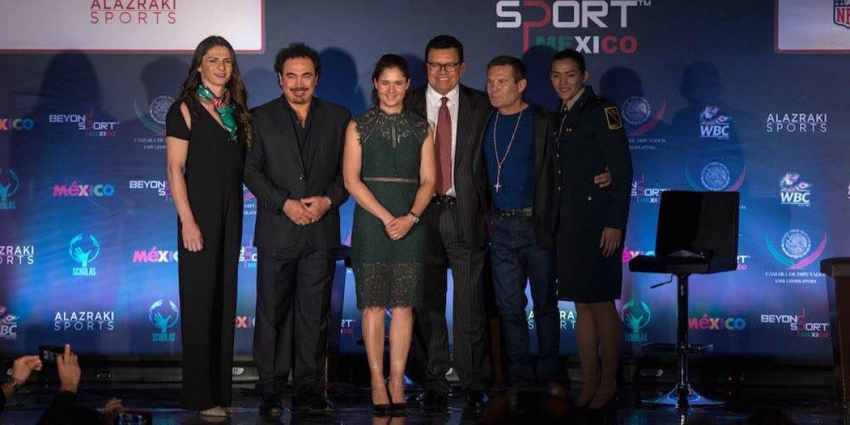 Leyendas del deporte entregan primer premio Beyond Sport México