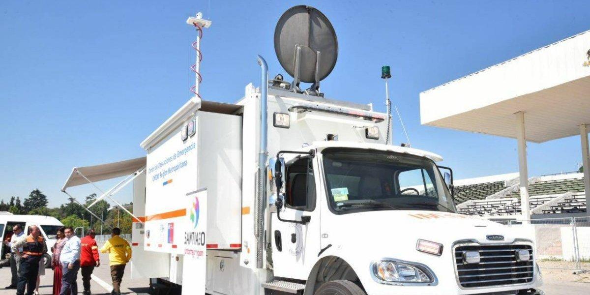 ¡Es una base espacial que rueda! Centro de mando móvil ayudará a combatir incendios forestales