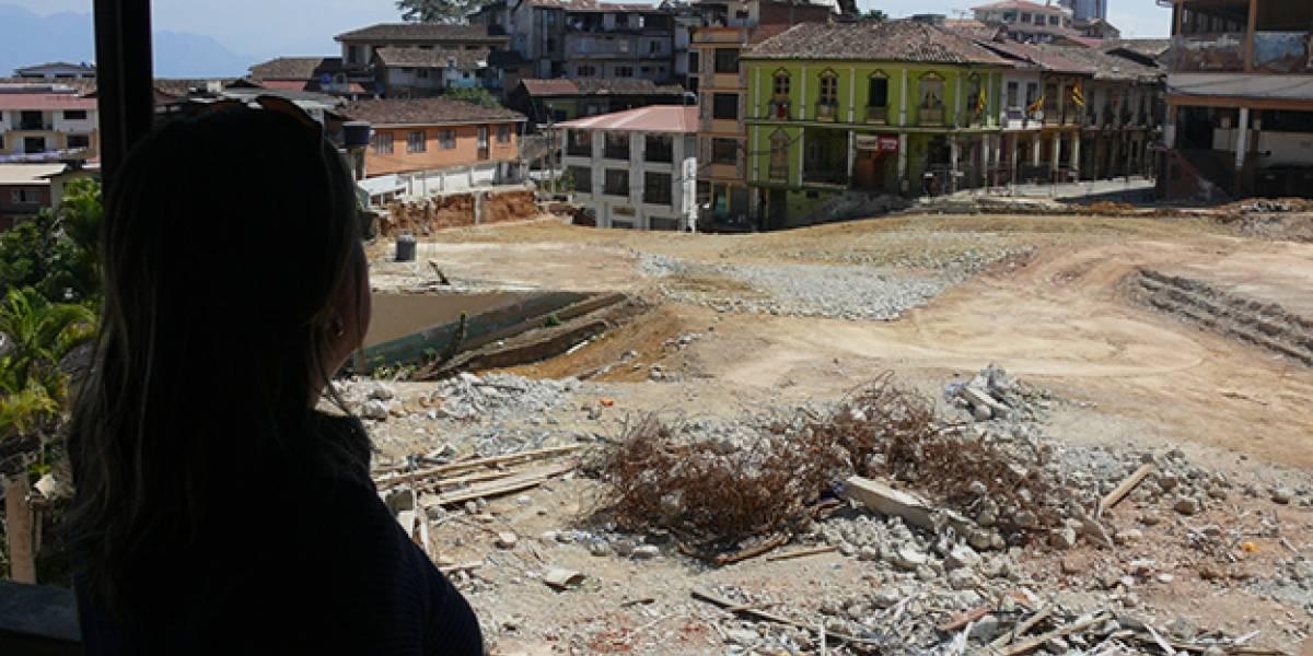 """""""Es un queso gruyere"""": el agujerado subsuelo que amenaza a Zaruma, una de la ciudades más hermosas de Ecuador"""
