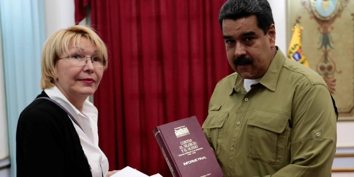 """La exfiscal general de Venezuela Luisa Ortega denuncia a Nicolás Maduro ante la Corte Penal Internacional por """"crímenes de lesa humanidad"""""""