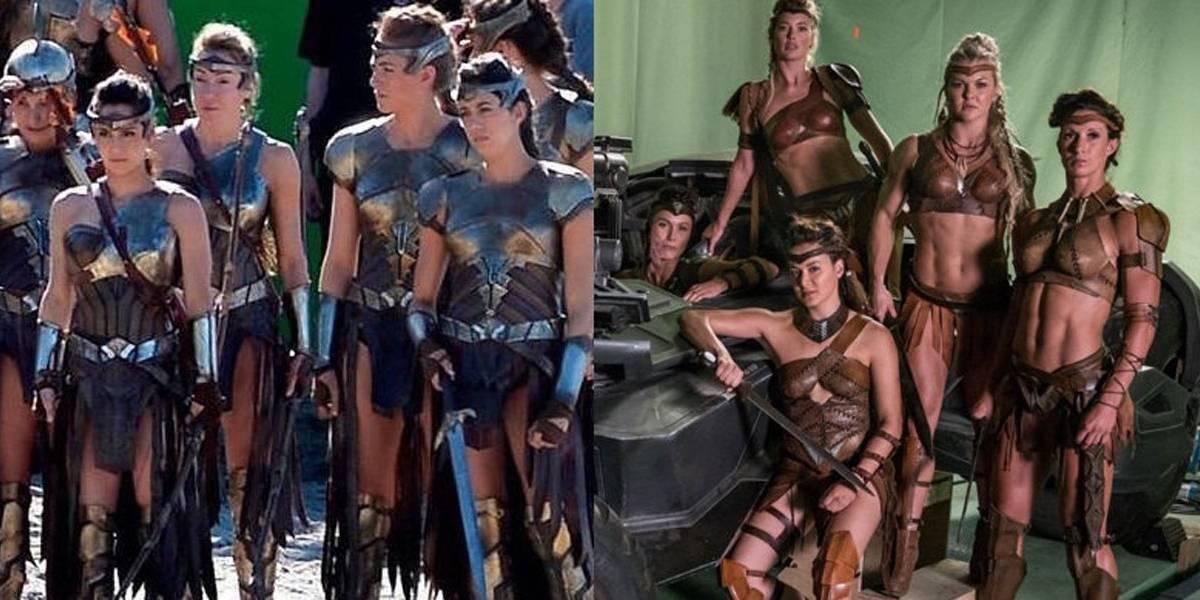 Figurino sexy das amazonas em Liga da Justiça causa polêmica nas redes