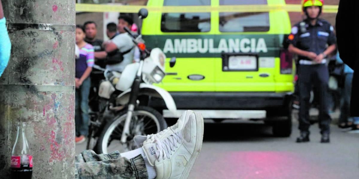 VIDEO. Joven es asesinado frente a su hermano en la zona 14
