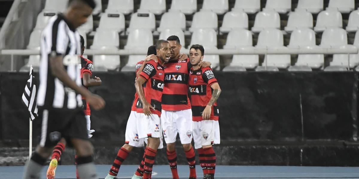 Atlético-GO ganha, e Botafogo se embola com rivais por Libertadores