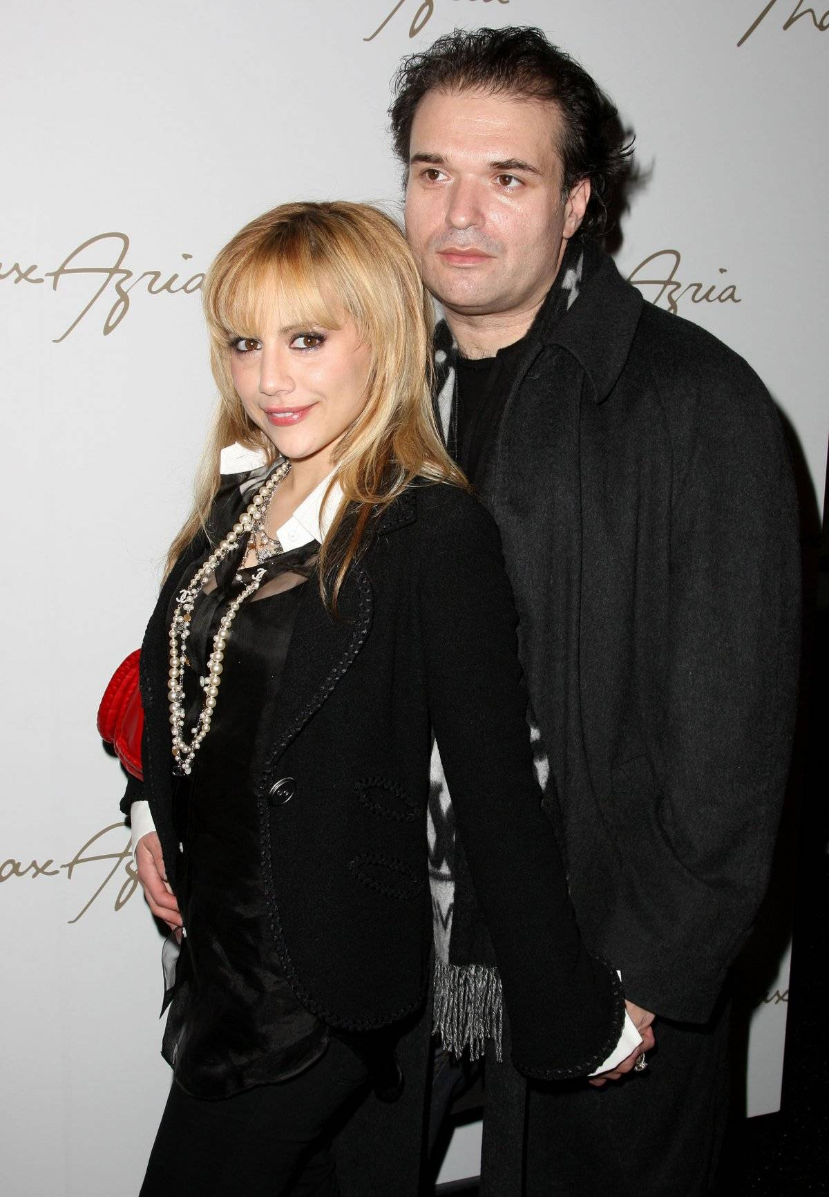 Brittany Murphy e o marido, Simon Monjack
