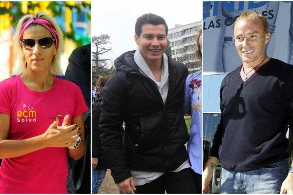 Érika Olivera, David Henríquez y Sebastián Keitel compiten por distritos de la Región Metropolitana / Foto: Agencias