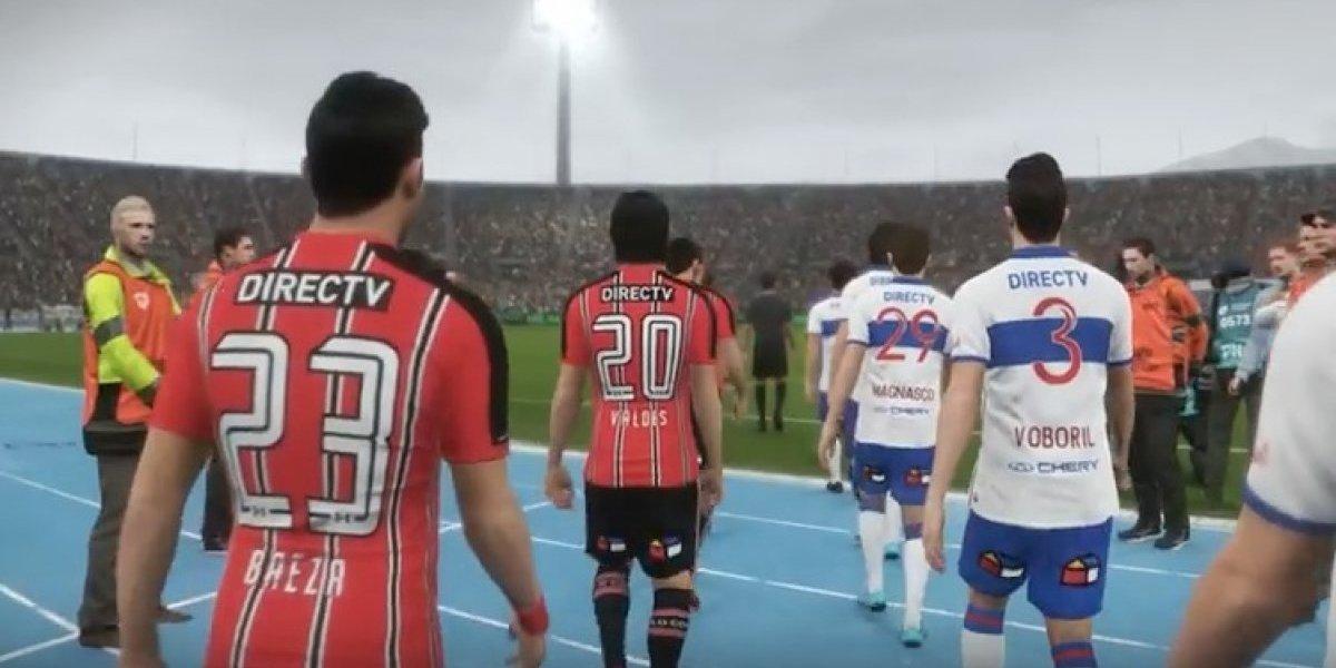 PES golpeó a FIFA en el Superclásico de los videojuegos con la tercera camiseta de Colo Colo