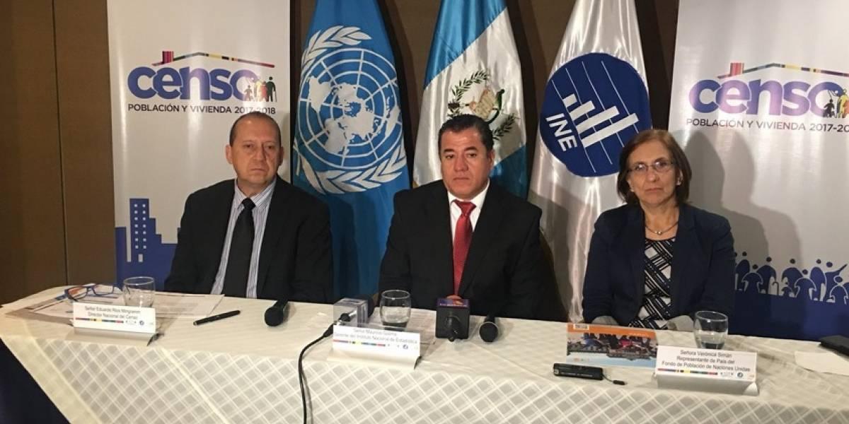 INE presenta información que pedirá durante el censo