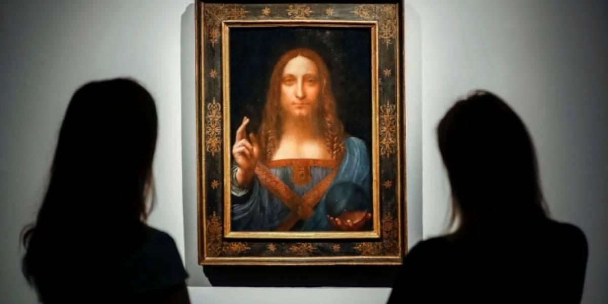 """""""Salvator Mundi"""": el pequeño cuadro de Leonardo da Vinci que pulverizó los récords y se vendió en US$450 millones"""
