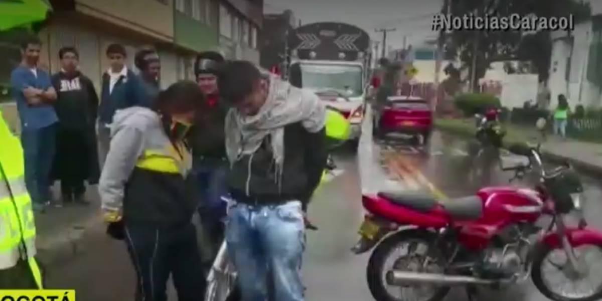 """Esta mujer parrillera era llamada """"el terror de Engativá"""" por sus crímenes en moto"""