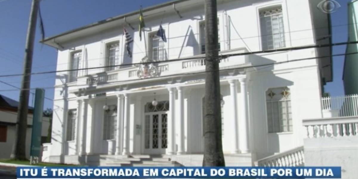 Itu é transformada em capital do Brasil por um dia