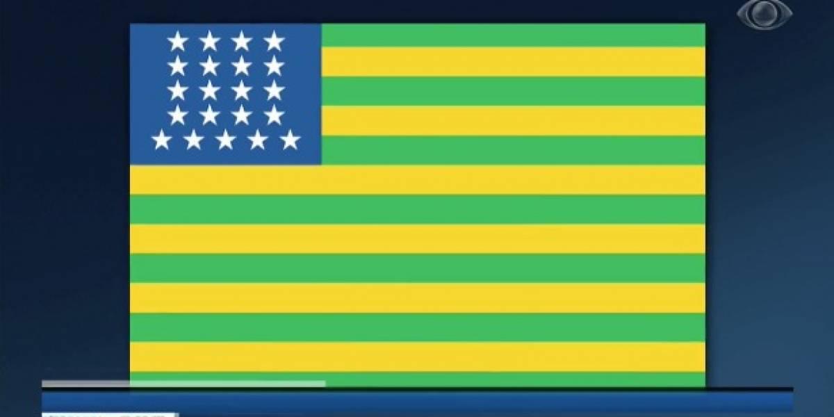 Exposição traz desenhos originais da bandeira do Brasil