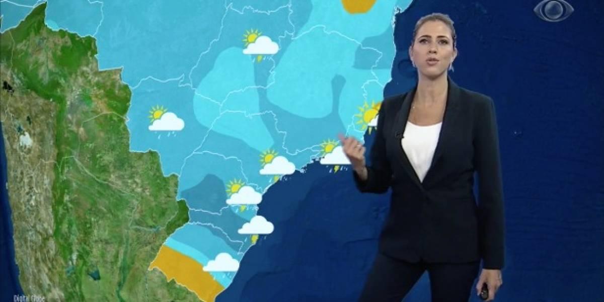Nova frente fria causa temporais no Sul e no Sudeste do país
