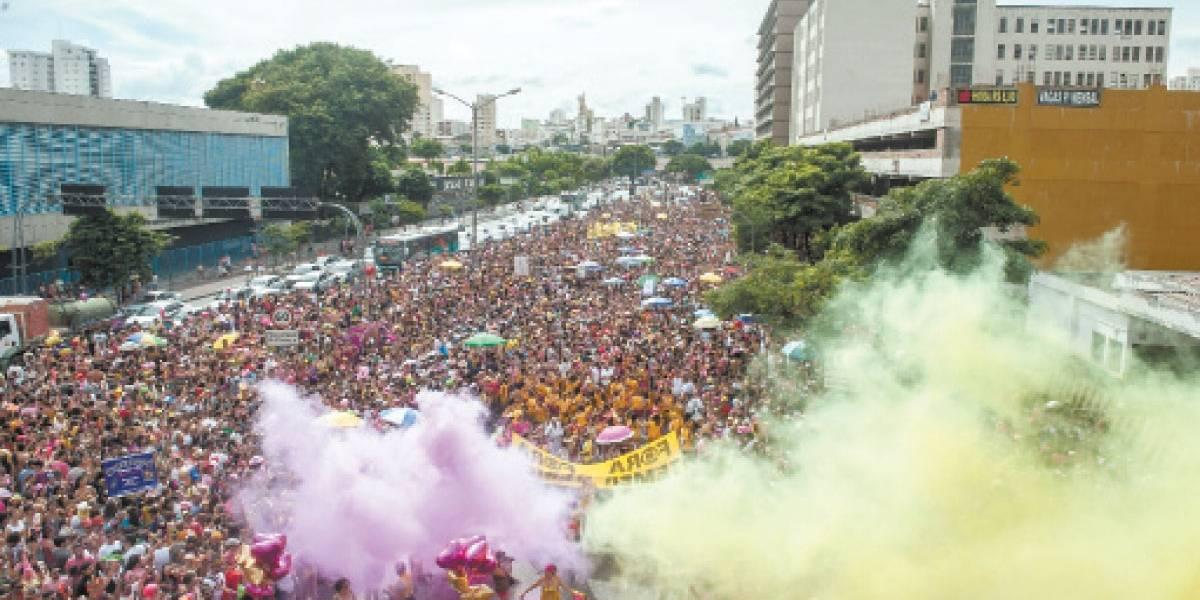Após carnaval de 2017 movimentar R$ 500 mi, BH se organiza para festa ainda maior em 2018