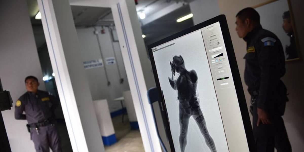 Implementan equipo de escaneo en cárceles de zona 18
