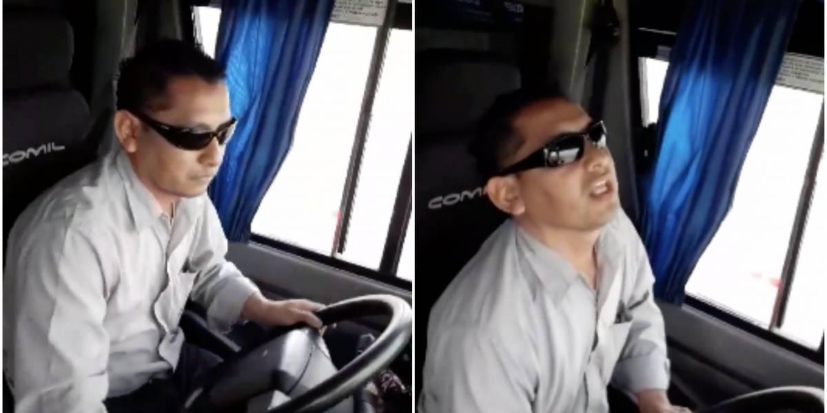 """""""Este es otro asesino al volante"""": Subió a un bus y el chofer era el mismo hombre que atropelló y mató a su hijo de 14 años"""