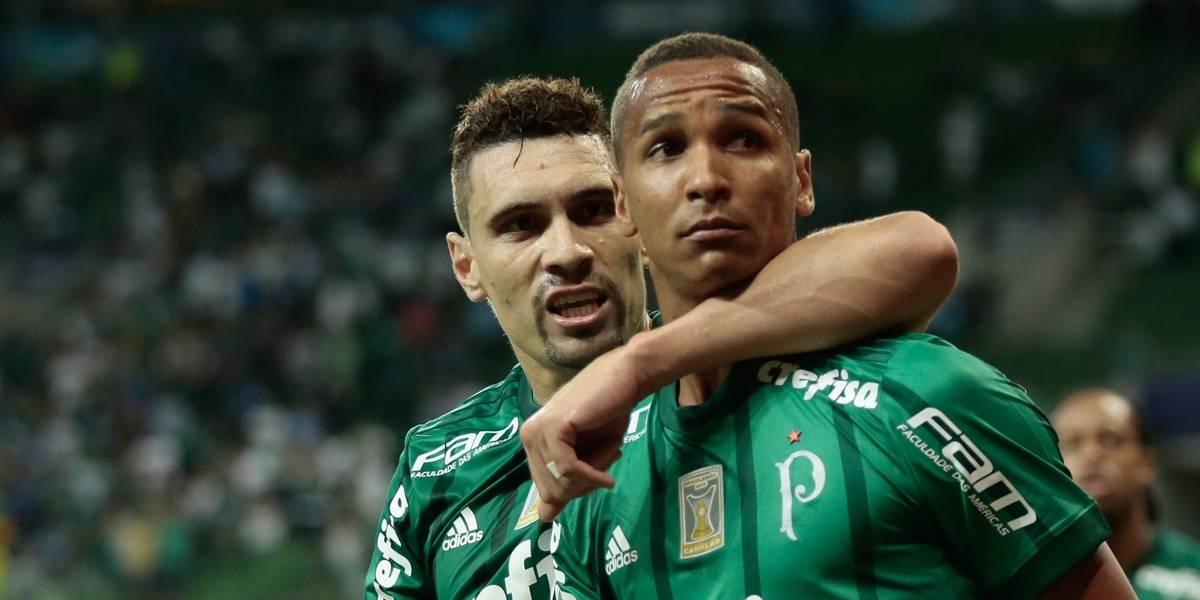 Palmeiras goleia e garante vaga direta na Libertadores