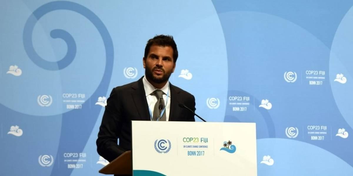 Sólo una acción global concertada podrá hacer frente al cambio climático: Pacchiano