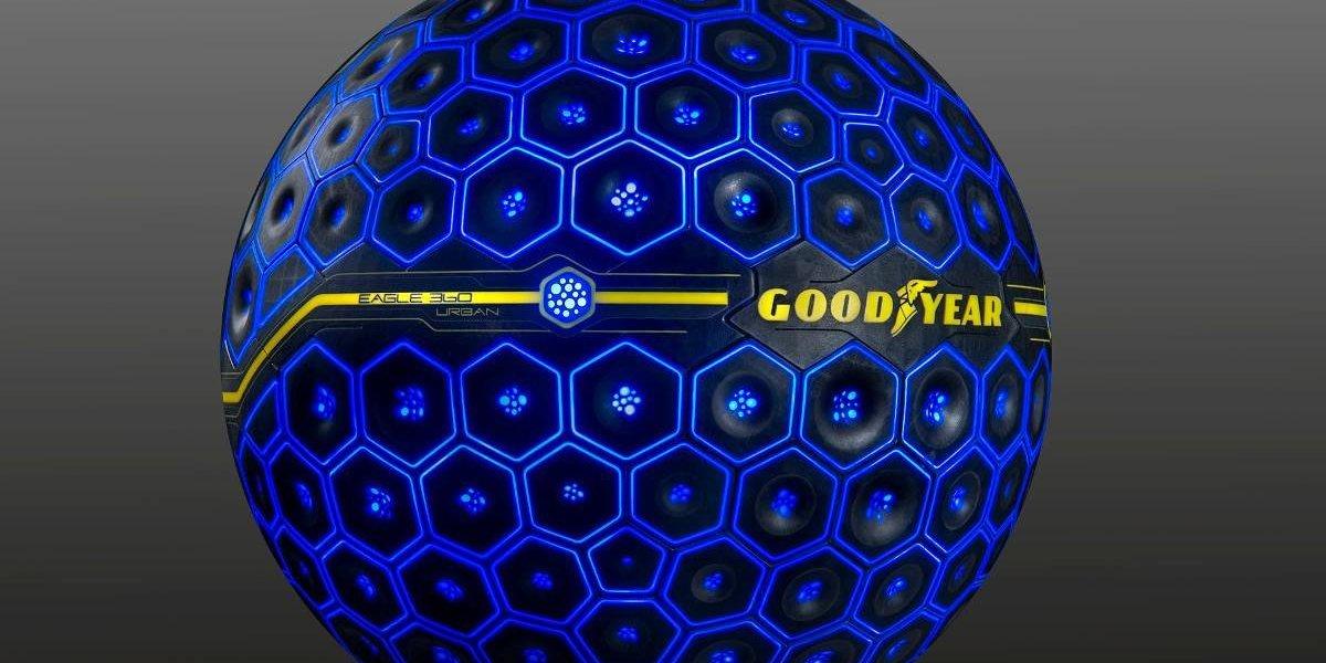 """Goodyear trae su """"neumático del futuro"""": el Eagle 360 Urban"""