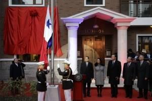 Panamá inaugura embajada en China