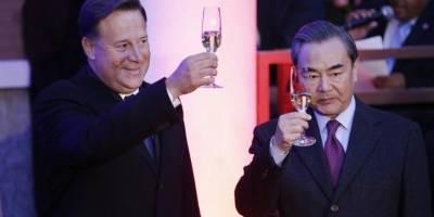 Juan Carlos Varela y Wang Yi