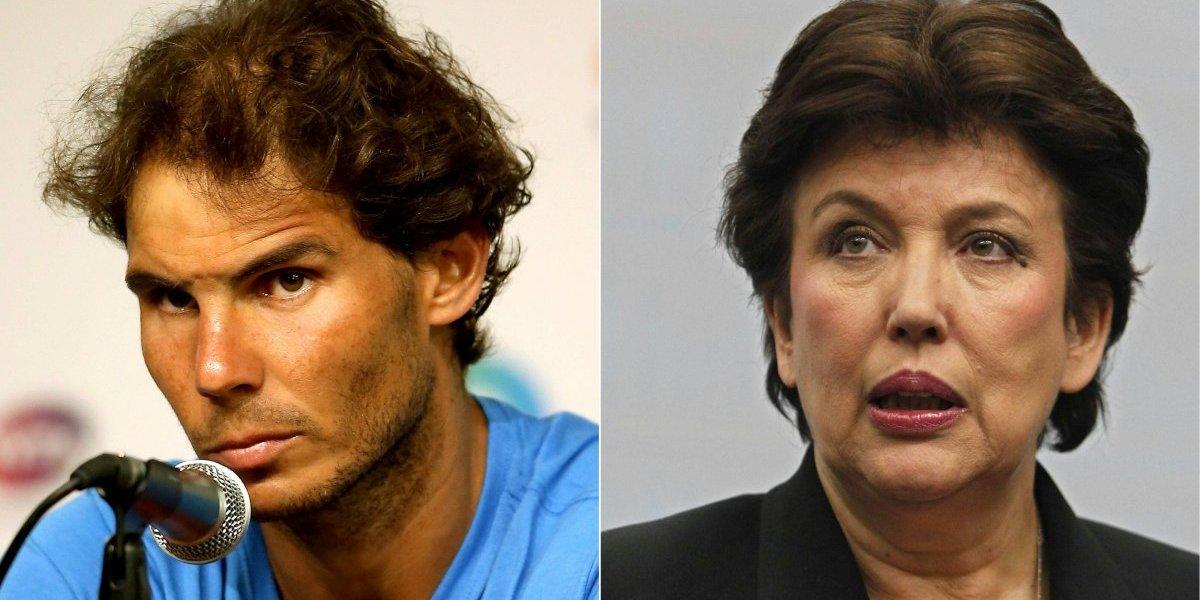 Exministrapagará fuerte suma a Rafael Nadal por haber hablado de más