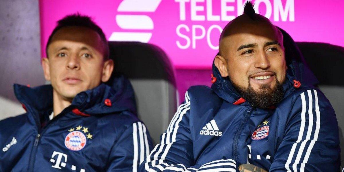 Arturo Vidal seguiría viendo al Bayern Munich desde la banca